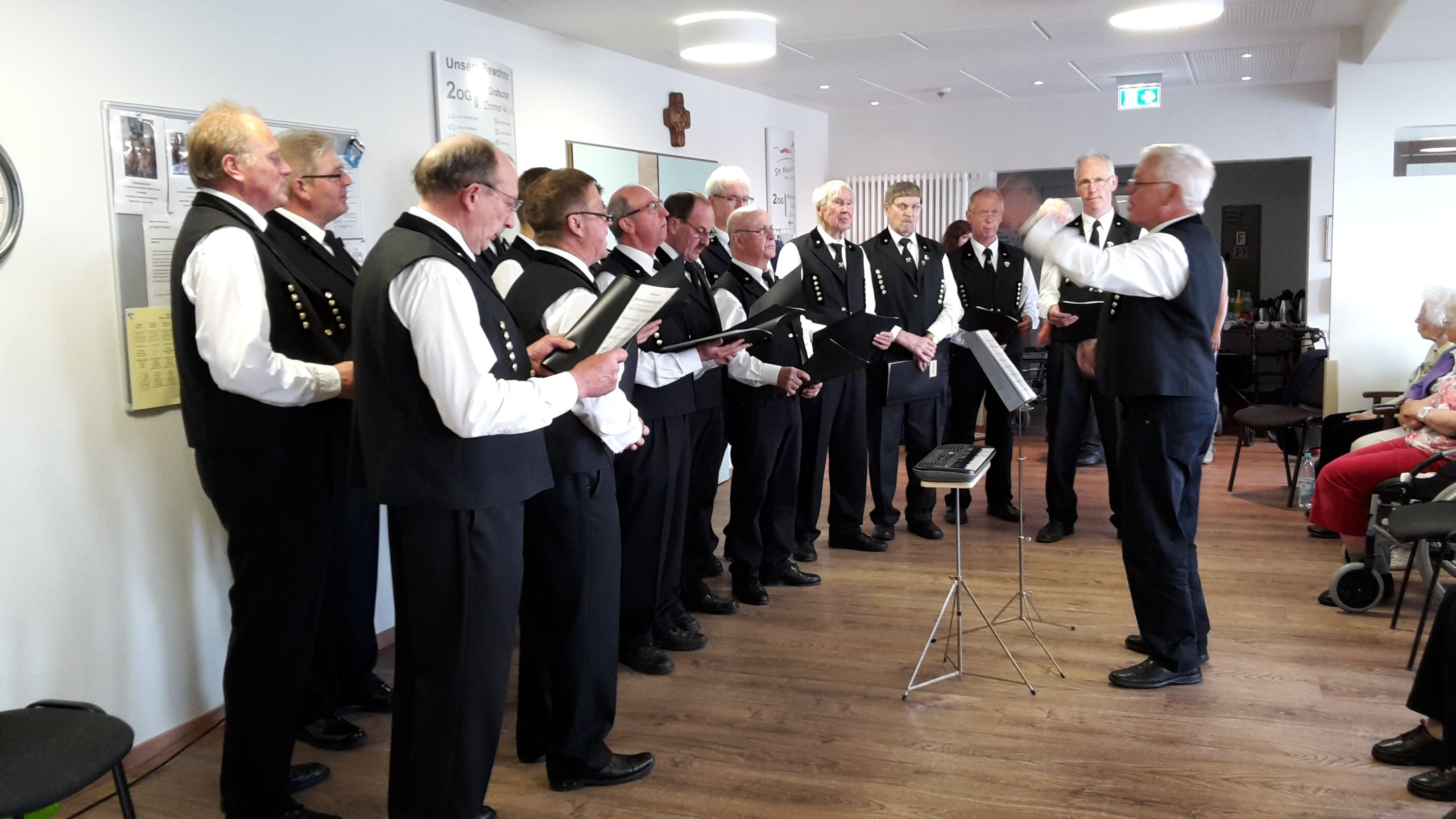 Sangesfreunde aus Dreislar sangen am Muttertag